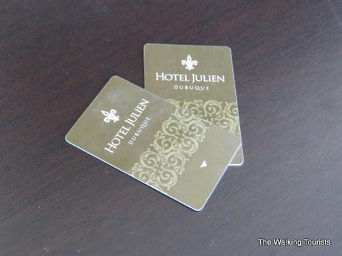 Hotel Julien key cards