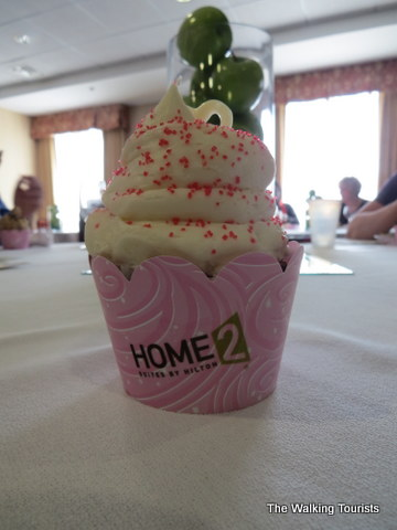 Cupcake from Gigi's as part of the reception