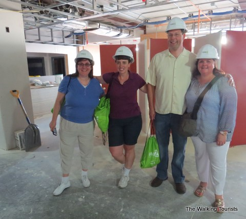Bloggers on the tour included (left to right): Robyn Roberts, Lisa, Steve and Ann Teget