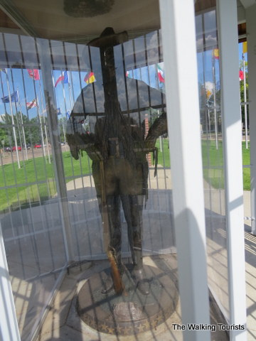Buffalo Bill statue at Cody Park