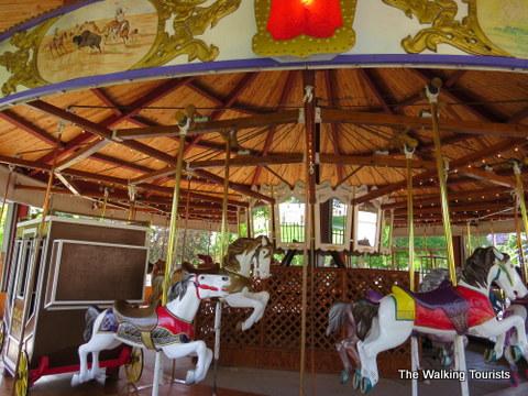 Carousel ride at Cody Park