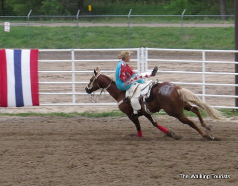 Trick Riders at Wild West Show