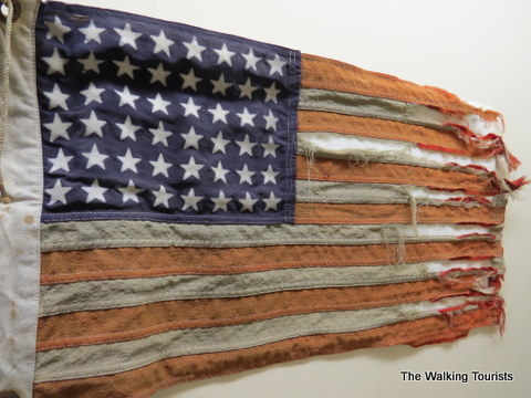 American Flag from Lincoln County Historical Museum