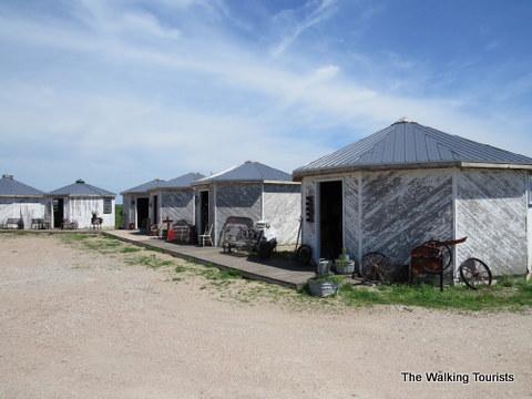 Antique Grain Bin Town