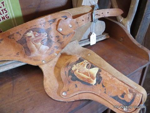 Antique finds at Antique Grain Bin Town