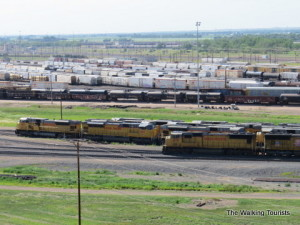Union Pacific's Bailey Yard brings 150 trains a day through North Platte