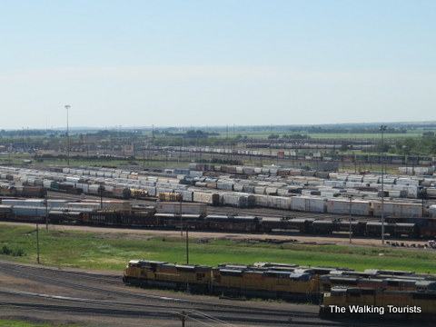 One of the Largest Railyards in the World