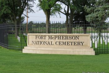 Fort McPherson cemetery
