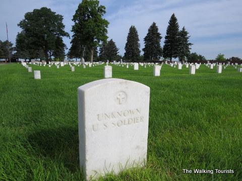 Fort McPherson cemetery