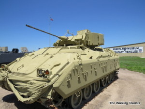 Heartland military vehicle museum worth the exit