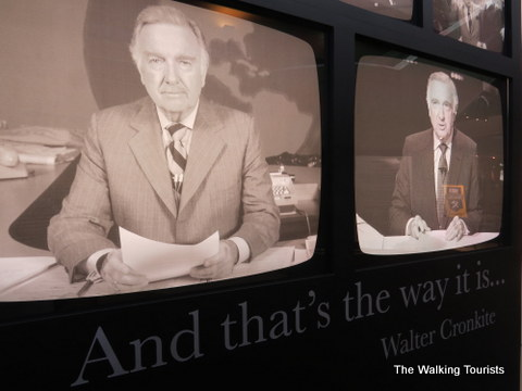 St Joseph Is Home To Walter Cronkite Memorial The Walking Tourists