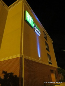 Cape Girardeau Holiday Inn Express is a comfortable stay