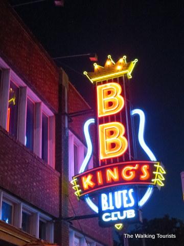 BB King's Blues Club on Beale Street