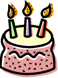 It's our 3rd birthday!!  And we want to give you gifts