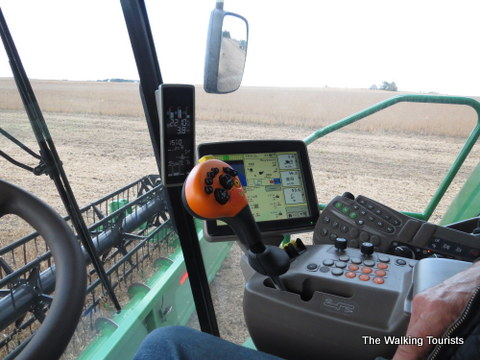 Farming technology in North Iowa