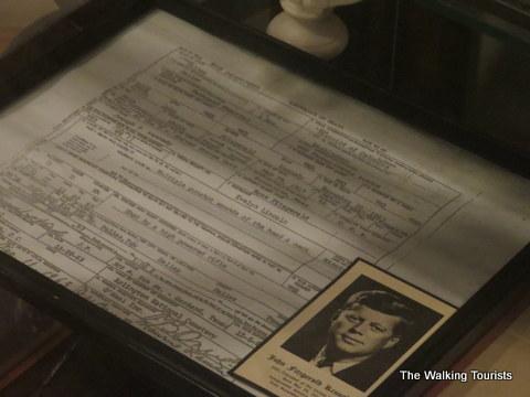 Uncertified copy of JFK death certificate
