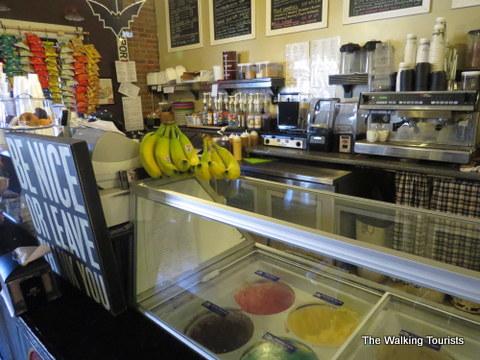 Haunted Atchison Snow Ball Ice Cream Shop