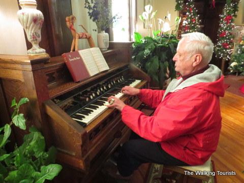 working organ at the Swedish Heritage Center