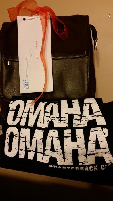 Omaha! Omaha!  Giveaway! Giveaway!