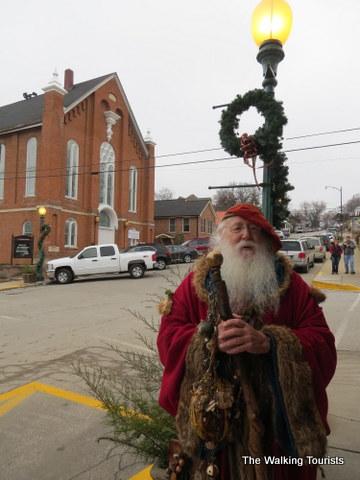 Victorian Santa in Weston, MO