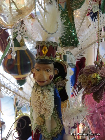 Vintage monkey ornaments