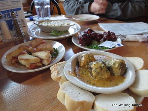 Thanksgiving dinner at Blue Moose
