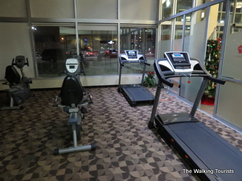 Fitness Center at Canada Inns Grand Forks