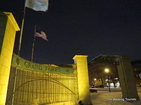 Grand Forks sign