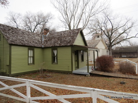 The Hodge House at Old Cowtown Museum in Wichita