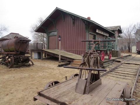 Wichita Train Depot at Cowtown Museum in Wichita, KS