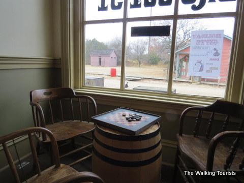 Saloon at Cowtown in Wichita, KS