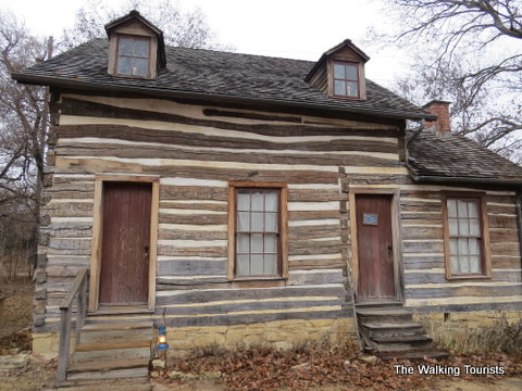 Cabin built by Darius Munger at Old Cowtown