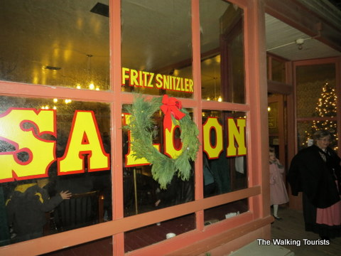 Snitzler's Saloon at Cowtown in Wichita, KS