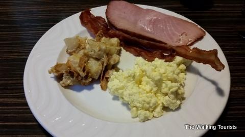 Aalto's breakfast Buffett at Canada Inns Grand Forks