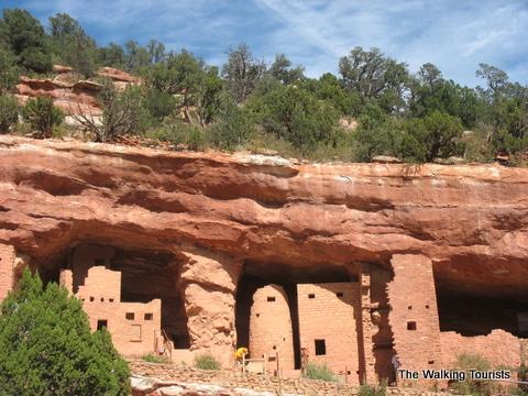 Manitou Springs Cliff Dwellings in Colorado Springs