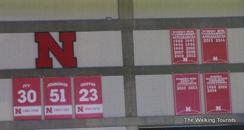 Pinnacle Bank Arena displays Husker's best