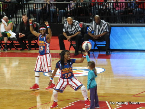 Harlem Globetrotters had great audience interaction