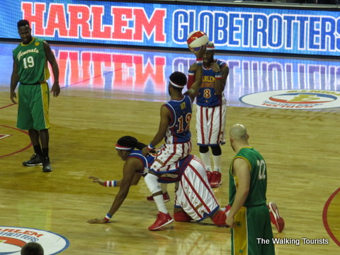 Harlem Globetrotters are ultimate performers