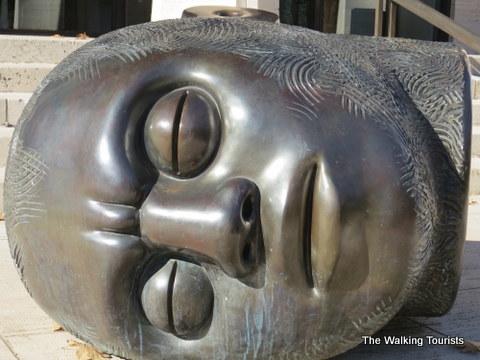 Fallen Dreamer at Sheldon Art Gallery in Lincoln, NE