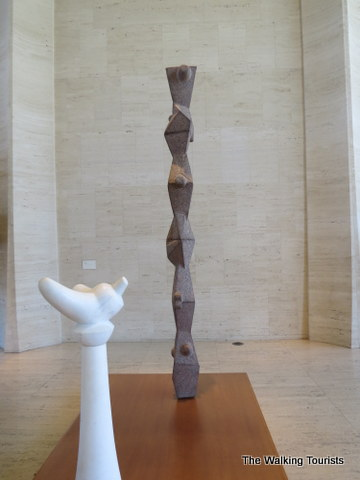Lobby of Sheldon Art Gallery in Lincoln