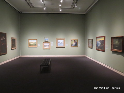 Classic Oil Painting at Sheldon Art Gallery in Lincoln