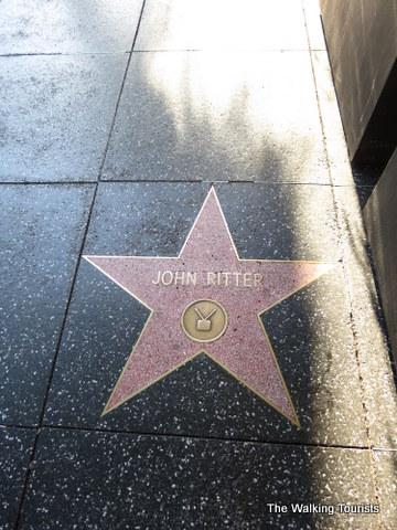 John Ritter's star on Walk of Fame