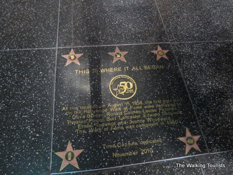 "Special marker designates ""Where it all began"""