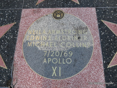 Star on Walk of Fame recognizes the first astronauts