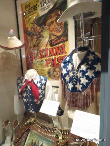 Roy Rogers memorabilia at Autry Museum
