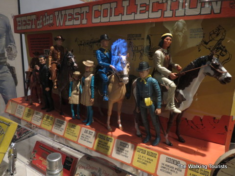 Western toy collection
