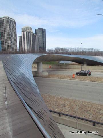 BP Bridge in Millennium Park in Chicago