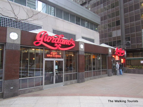 Giordano's Pizza in Chicago