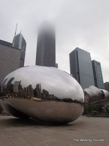 Even a gray day is nice with a trip to Chicago's Millenium Park