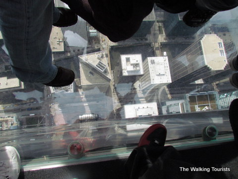 Views from Willis Tower in Chicago